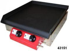 Gorenc plinski roštilj Camping 40K, Fe ploča s kuhalom