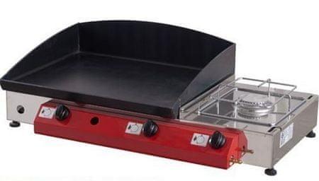 Gorenc plinski žar Gurman 80K Ambiente, Fe plošča