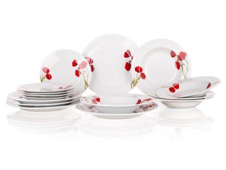 Banquet 18-delni jedilni set Poppy