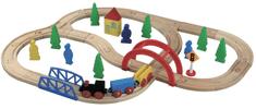 Maxim Zestaw kolejowy - Kris Kros 40 elementów