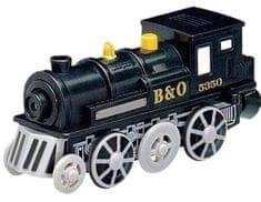 Maxim Elektryczna lokomotywa - czarna