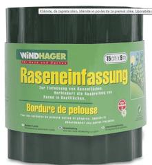 Windhager vrtna obroba, 20 cm x 9 m, zelena