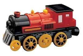 Maxim Elektrická lokomotiva - červená - rozbaleno