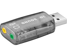 Goobay zvučna kartica USB 2.0