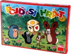 DINO Poď sa hrať Krtko detská spoločenská hra
