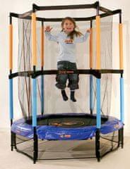 Hudora trampolin z zaščitno mrežo Joey Jump, 140 cm