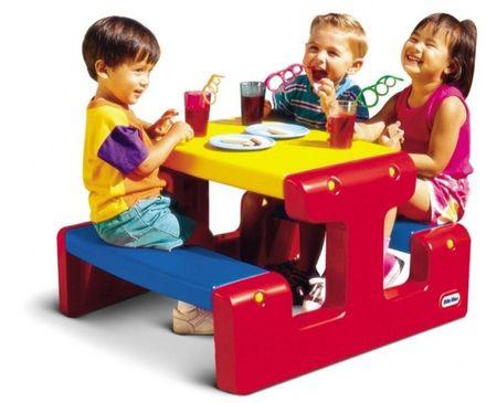 Little Tikes Stolik piknikowy Junior - Primary