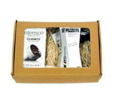 Pezzetti Zestaw kawa mielona Intenso Classico 250 g + kawiarka