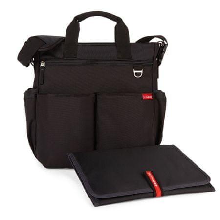 Skip hop previjalna torba Duo Signature, črna