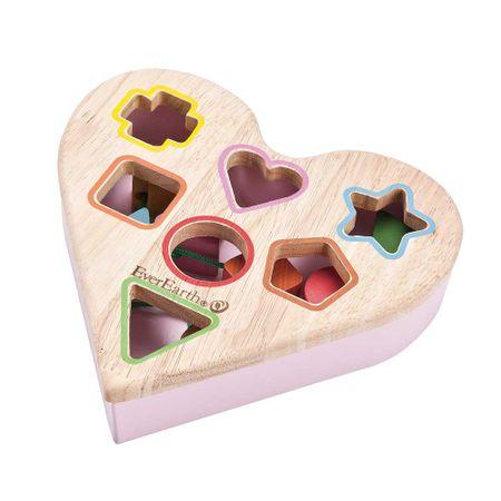 EverEarth leseno srce za vstavljanje likov
