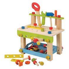 EverEarth lesena delovna miza z orodjem, velika