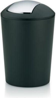 Kela MARTA Szemetes, 5 liter, Fekete