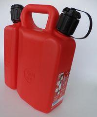 kombinirana posoda za gorivo 3,5l in olje 1,5l