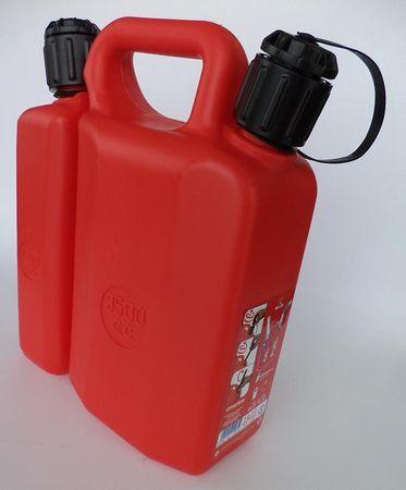 kombinirani spremnik goriva 3,5l i ulja 1,5l
