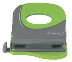 Connect luknjač Premium, za 20 listov, črno/zelen