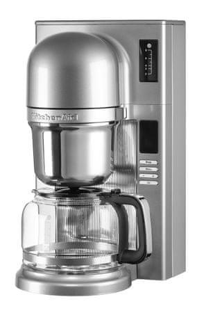 KitchenAid kavni aparat Pour Over 5KCM0802ECU, srebrn