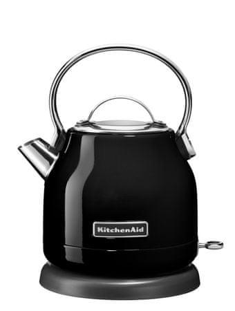 KitchenAid grelnik vode 5KEK1222EOB, črn