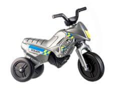 Yupee Motorek biegowy - Enduro Yupee Policie - szary