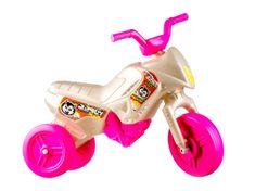 Yupee Motorek biegowy Enduro różowo-biały