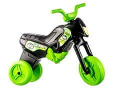 Yupee Odrážadlo Enduro čierno-zelené veľké