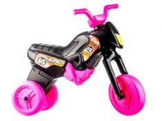 Yupee Motorek biegowy Enduro różowo-czarny