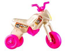 Yupee Motorek biegowy Enduro biało-różowy