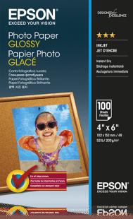 Epson papier Photo Paper Glossy 10x15cm 100 arkuszy (C13S042548)