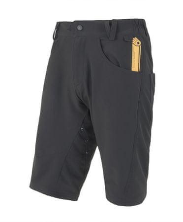Sensor kolesarske kratke hlače Charger, moške, črne, XXL