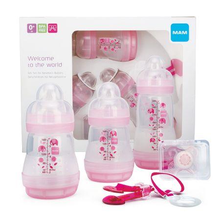MAM Gift dárkový set pro novorozence malý, holka