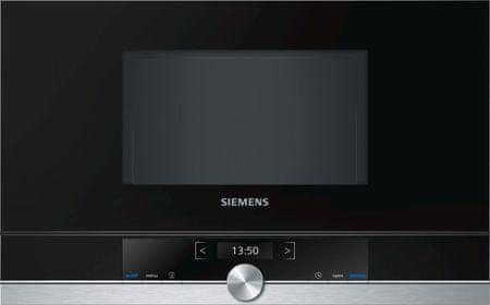 Siemens kuchenka mikrofalowa do zabudowy siemens BF634LGS1