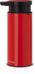 Brabantia doza za tekoče milo, rdeča