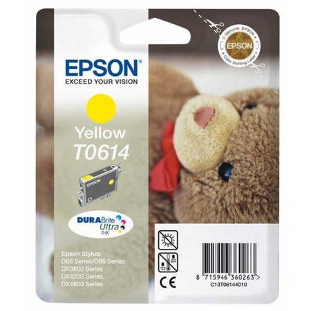 Epson kartuša T0614 (C13T06144010), rumena