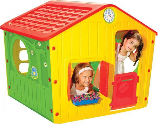 Buddy Toys Detský domček VILLAGE červený 1140