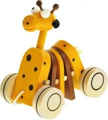 Bino Drewniana żyrafa na sznurku