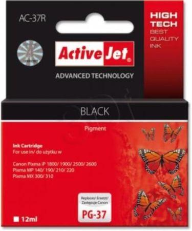 ActiveJet črno črnilo Canon PG-37