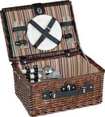 Cilio Kosz piknikowy brązowo - czarny