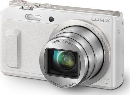 PANASONIC Lumix DMC-TZ57 Digitális fényképezőgép, Fehér