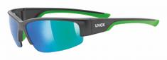 Uvex Sportstyle 215 naočale, mat crna/zelena