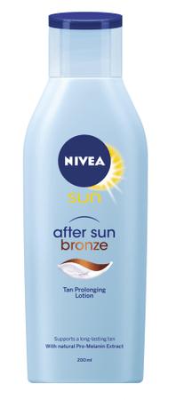 Nivea Sun losjon za nego po sončenju Bronze, 200 ml