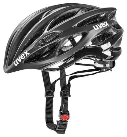 Uvex Race 1 Black Mat/Shiny (50-55 cm)