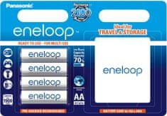 Panasonic AA 4ks 1900 mAh Eneloop + CASE (BK-3MCCEC/4BE)