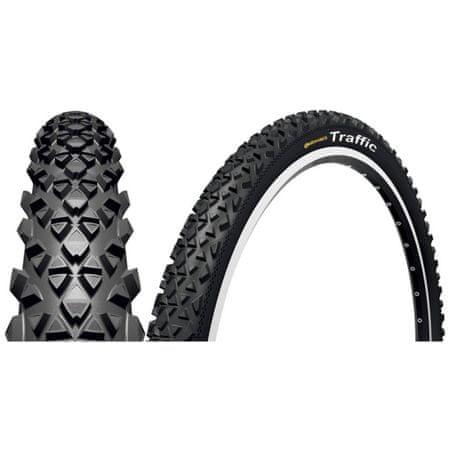 Continental MTB pnevmatika Traffic 26 × 1,9, črna