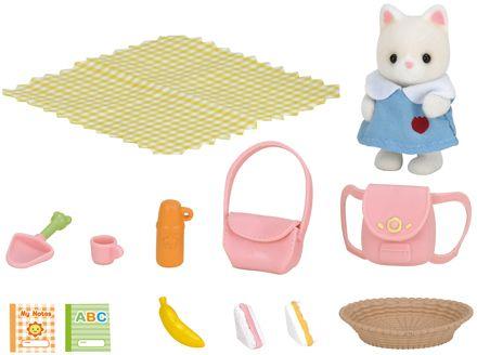 Sylvanian Families Piknik dla małej uczennicy 3590