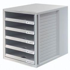 Han predalnik System Box, odprt, siv