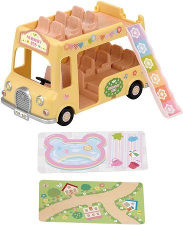 Sylvanian Families Dvoupatrový školní autobus 3588
