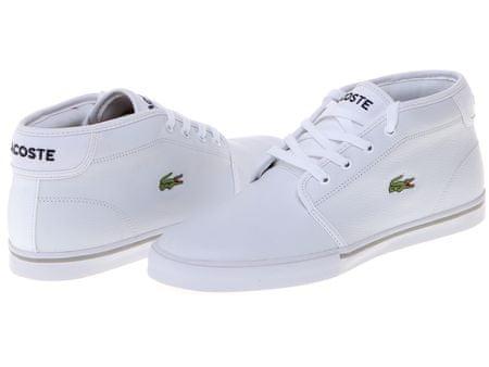 c79904bec5 Lacoste pánské kotníčkové tenisky Ampthill 42 bílá