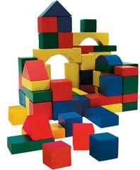 Marionette Fa építőkockák, 75 db