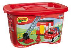 Unico Box klocki Straż pożarna