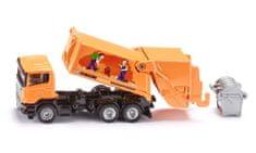 SIKU model śmieciarki Scania 1:87
