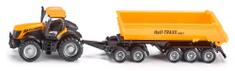 SIKU Traktor JCB billenőkocsival, 1:87